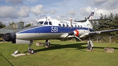 Photo ID 132795 by Niels Roman / VORTEX-images. UK Navy Scottish Aviation HP 137 Jetstream T2, XX476
