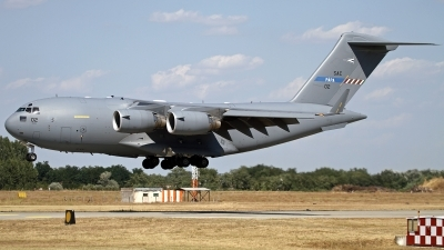 Photo ID 132600 by Niels Roman / VORTEX-images. NATO SAC Strategic Airlift Capability Boeing C 17A Globemaster III, 08 0002