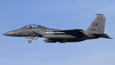 Photo ID 132786 by Chris Lofting. USA Air Force McDonnell Douglas F 15E Strike Eagle, 98 0131
