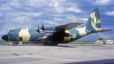 Photo ID 132744 by Eric Tammer. Nigeria Air Force Lockheed C 130H Hercules L 382, NAF911