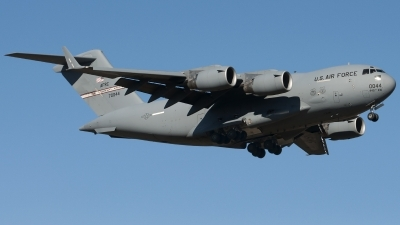 Photo ID 132777 by Jesus Peñas. USA Air Force Boeing C 17A Globemaster III, 97 0044