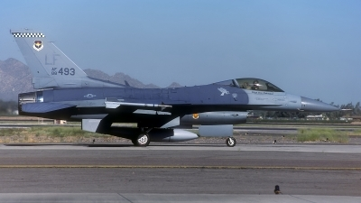 Photo ID 132779 by Rainer Mueller. USA Air Force General Dynamics F 16C Fighting Falcon, 88 0493