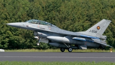 Photo ID 17300 by Rainer Mueller. Netherlands Air Force General Dynamics F 16BM Fighting Falcon, J 208