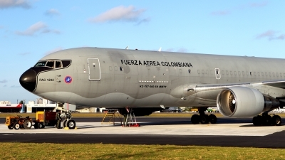 Photo ID 133029 by Carl Brent. Colombia Air Force Boeing KC 767 767 2J6 ER MMTT, FAC1202