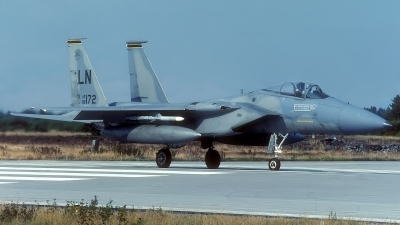 Photo ID 133062 by Rainer Mueller. USA Air Force McDonnell Douglas F 15C Eagle, 86 0172