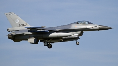 Photo ID 133033 by Niels Roman / VORTEX-images. Netherlands Air Force General Dynamics F 16AM Fighting Falcon, J 367