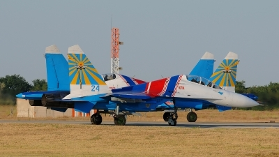 Photo ID 133135 by Stephan Franke - Fighter-Wings. Russia Air Force Sukhoi Su 27UB, 20 BLUE