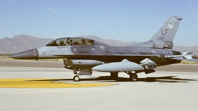 Photo ID 17325 by Rainer Mueller. USA Air Force General Dynamics F 16D Fighting Falcon, 83 1182