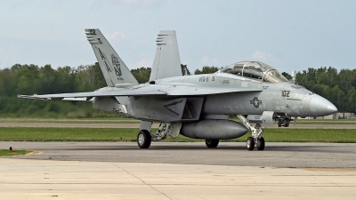 Photo ID 133478 by David F. Brown. USA Navy Boeing F A 18F Super Hornet, 166624