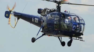 Photo ID 133517 by Arie van Groen. Netherlands Air Force Aerospatiale SA 316B Alouette III, A 301
