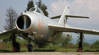 Photo ID 17372 by Sean Wilson - Prime Images. Albania Air Force Shenyang F 5, 4 21