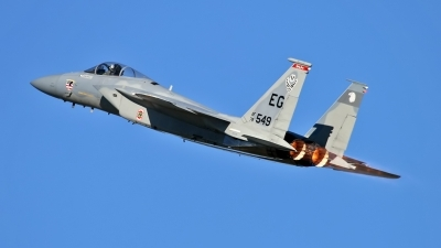 Photo ID 133707 by Johannes Berger. USA Air Force McDonnell Douglas F 15C Eagle, 78 0549