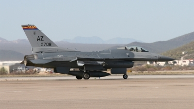 Photo ID 134003 by Hans den Uyl. USA Air Force General Dynamics F 16C Fighting Falcon, 90 0708