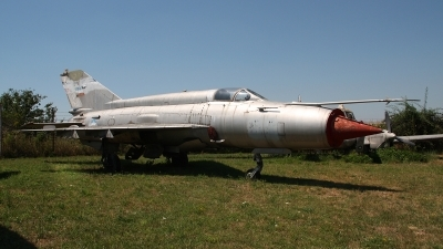 Photo ID 134047 by Paul Newbold. Serbia Air Force Mikoyan Gurevich MiG 21M, 22818
