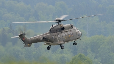 Photo ID 134038 by Martin Thoeni - Powerplanes. Switzerland Air Force Aerospatiale AS 532UL Cougar, T 332