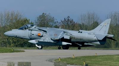 Photo ID 134019 by Rainer Mueller. Spain Navy McDonnell Douglas EAV 8B Harrier II Plus, VA 1B 24