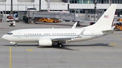 Photo ID 134215 by Patrick Weis. USA Air Force Boeing C 40C BBJ 737 7CP, 02 0201
