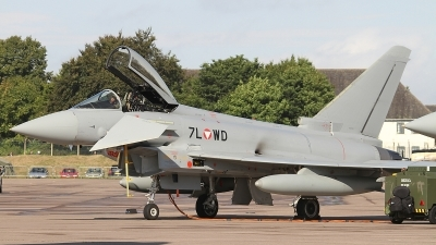Photo ID 134270 by Paul Newbold. Austria Air Force Eurofighter EF 2000 Typhoon S, 7L WD