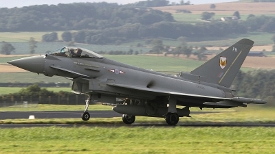 Photo ID 136689 by Paul Newbold. UK Air Force Eurofighter EF 2000 Typhoon FGR4, ZK329