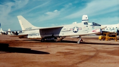 Photo ID 134583 by Robert W. Karlosky. USA Marines Vought F 8L Crusader, 145490