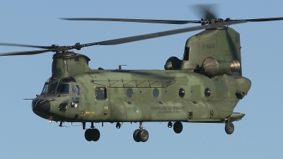 Photo ID 17482 by Mark Broekhans. Netherlands Air Force Boeing Vertol CH 47D Chinook, D 663