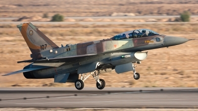 Photo ID 134472 by Andreas Zeitler - Flying-Wings. Israel Air Force Lockheed Martin F 16I Sufa, 107