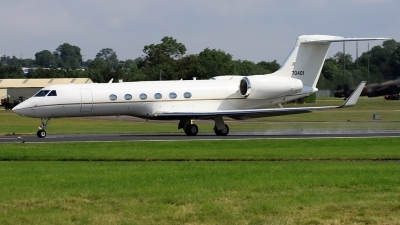 Photo ID 134573 by John Higgins. USA Air Force Gulfstream Aerospace G V Gulfstream C 37A, 97 0401