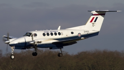 Photo ID 134725 by Chris Lofting. UK Air Force Beech Super King Air B200 GT, ZK455