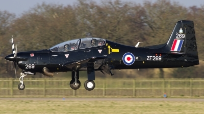 Photo ID 134749 by Chris Lofting. UK Air Force Short Tucano T1, ZF269