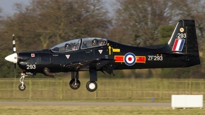 Photo ID 134750 by Chris Lofting. UK Air Force Short Tucano T1, ZF293