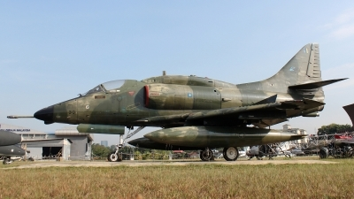 Photo ID 134760 by Patrick Weis. Malaysia Air Force Douglas A 4PTM Skyhawk, M32 30