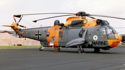 Photo ID 134807 by John Higgins. Germany Navy Westland Sea King Mk41, 89 69