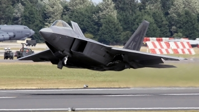 Photo ID 134873 by John Higgins. USA Air Force Lockheed Martin F 22A Raptor, 06 4108