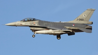 Photo ID 135025 by Ruben Galindo. Netherlands Air Force General Dynamics F 16AM Fighting Falcon, J 060