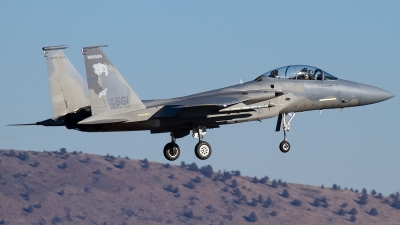 Photo ID 135081 by Russell Hill. USA Air Force McDonnell Douglas F 15D Eagle, 78 0561