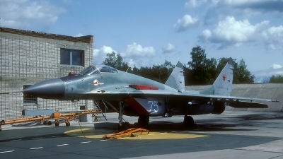Photo ID 135073 by Rainer Mueller. Russia Air Force Mikoyan Gurevich MiG 29C 9 13, 75 WHITE