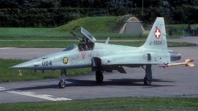 Photo ID 135220 by Rainer Mueller. Switzerland Air Force Northrop F 5E Tiger II, J 3004