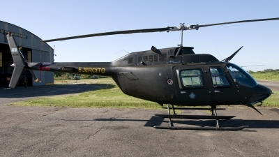 Photo ID 135219 by Jorge Molina. Argentina Army Bell 206B 3 JetRanger III, AE 368