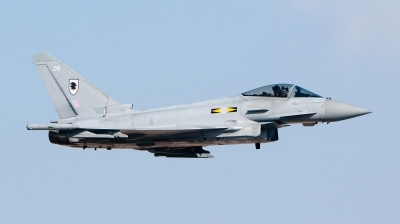 Photo ID 135228 by Pieter Stroobach. UK Air Force Eurofighter EF 2000 Typhoon FGR4, ZJ932