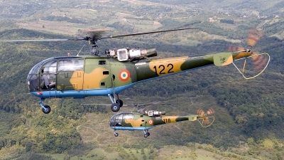 Photo ID 135298 by Carl Brent. Romania Air Force IAR 316B Alouette III, 122