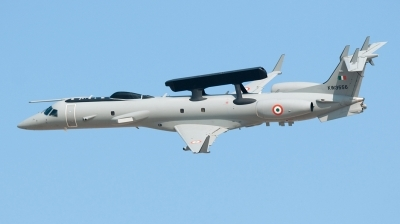 Photo ID 135444 by Pieter Stroobach. India Air Force Embraer EMB 145I AEW C, KW3556