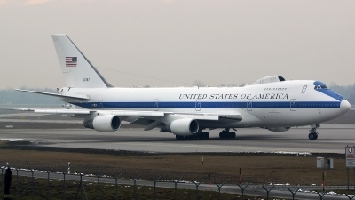 Photo ID 135415 by Lukas Kinneswenger. USA Air Force Boeing E 4B 747 200B, 74 0787