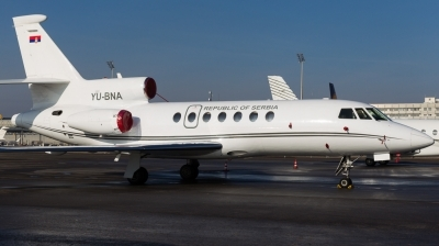 Photo ID 135430 by Andreas Zeitler - Flying-Wings. Serbia Government Dassault Falcon 50, YU BNA