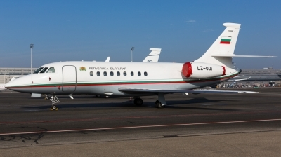 Photo ID 135431 by Andreas Zeitler - Flying-Wings. Bulgaria Government Dassault Falcon 2000, LZ OOI