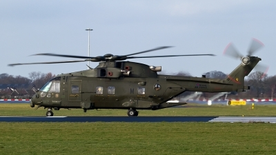 Photo ID 135477 by Alfred Koning. UK Air Force Agusta Westland EH 101 Merlin HC3 Mk411, ZJ128