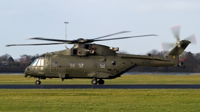 Photo ID 135479 by Alfred Koning. UK Air Force Agusta Westland EH 101 Merlin HC3 Mk411, ZJ133