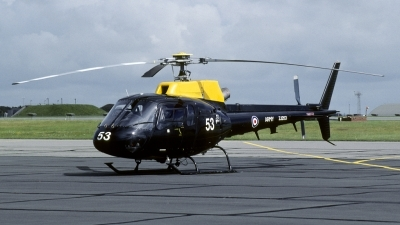 Photo ID 135570 by Joop de Groot. UK Air Force Aerospatiale AS 350BB Squirrel HT2, ZJ253