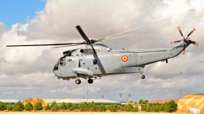 Photo ID 135708 by Ricardo Gomes. Spain Navy Sikorsky SH 3H Sea King S 61B, HS 9 15