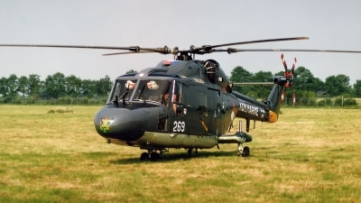 Photo ID 135781 by Jan Eenling. Netherlands Navy Westland WG 13 Lynx SH 14B, 269