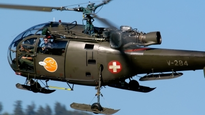 Photo ID 135718 by Sven Zimmermann. Switzerland Air Force Aerospatiale SA 319B Alouette III, V 284